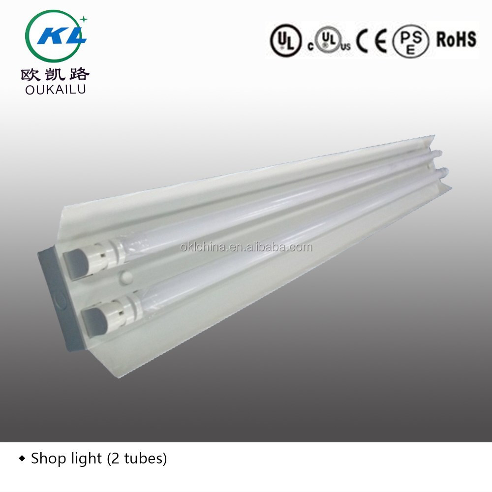 2ft4ft8ft surface mounted commercial t8 fluorescent lighting 2ft4ft8ft surface mounted commercial t8 fluorescent lighting fixture with reflector from factory buy t8 fluorescent light fixture4ft light fixture arubaitofo Gallery