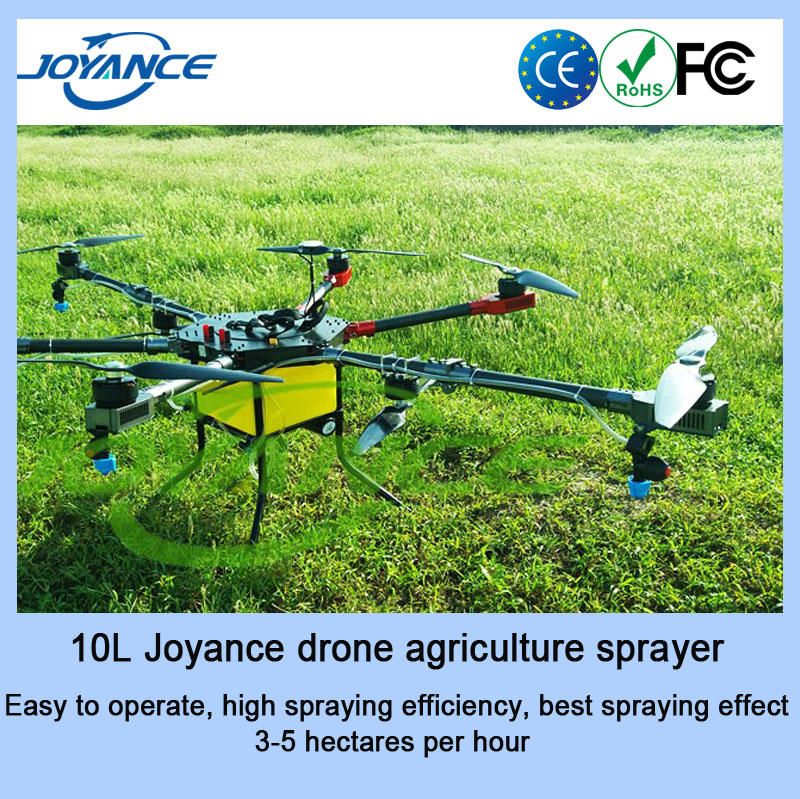 The cheapest Multifunctional 10kg JOYANCE Wholesale Agricultural drone ag uav drone, crop dusting drone agri sprayer