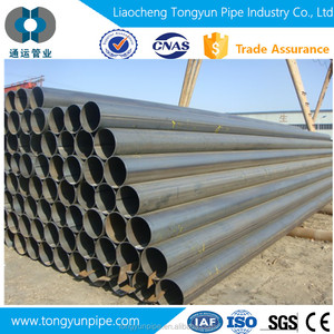 HLL API 5L GR.B ERW/LSAW/SSAW/welded sch 10 carbon steel pipe and tubes for sale