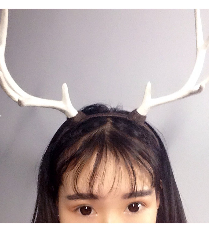 mick rowan halloween party cosplay antlers headwear elk