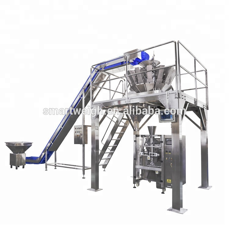 Smart Weigh small vertical bagging machine supply for frozen food packing-8