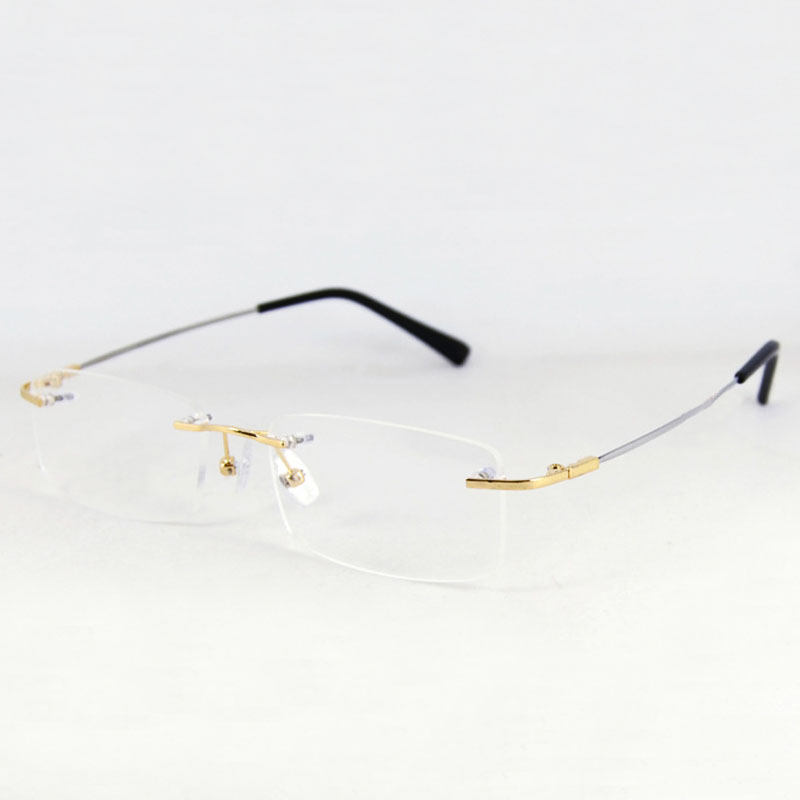 Vintage Rimless Eyeglasses 121