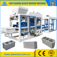 QT6-15 automatic cement block and brick making machine price