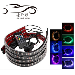 RGB Led Strip Under Car Tube Underglow Light Glow System Neon Light