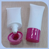 plastic cosmetic oval tube for due whitening cream