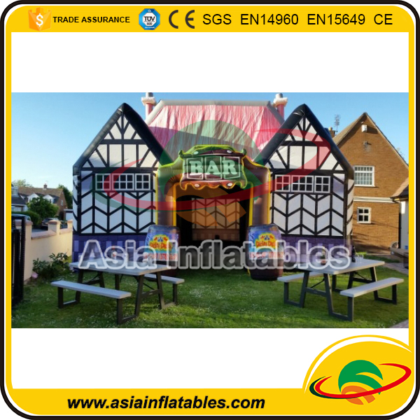 China Manufacturer Advertising Inflatabe Beer Pub Inflatable Irish Pub for Sale