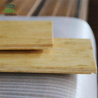 Strand woven natural bamboo flooring with width 14mm thickness 135mm