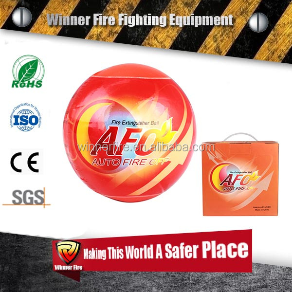 <strong>CE</strong>,Rohs SGS certificated easy handle 1.3kg Auto fire fighting ball for home and car use
