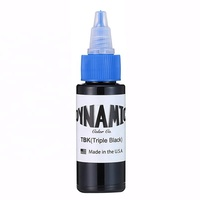 Original Dynamic 1 oz triple black color tattoo ink