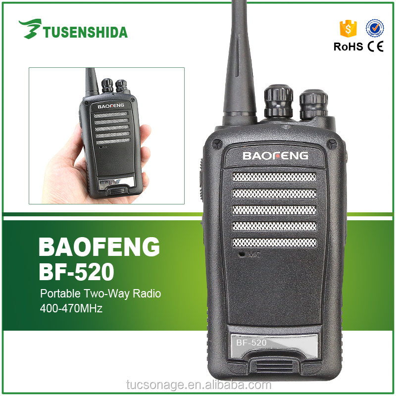 Portable two way radio BAOFENG BF-520 uhf radio set for communication