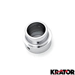 Krator Dirt Bike Exhaust Tip Muffler Power Outlet Chrome For 2003 Yamaha TT-R90 / TT-R90E