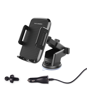 2018 Latest Car Fast Wireless Charger Air Vent Car Mount Phone Holder For Mobile Phone