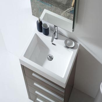 12 Inch Deep Bathroom Vanity Sink