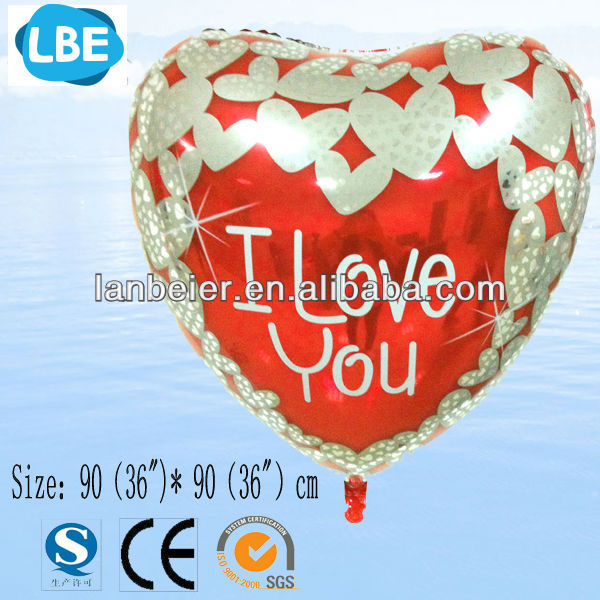 36 inch Advertising valentine balloon