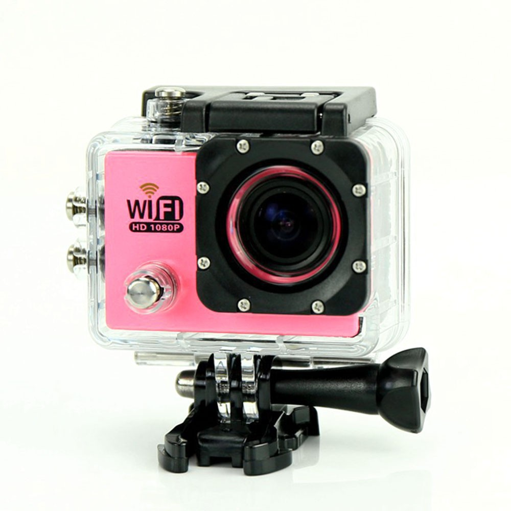 7 color, SJ6000 WiFi Action Camera 12MP Full HD 1080P 30FPS 2.0