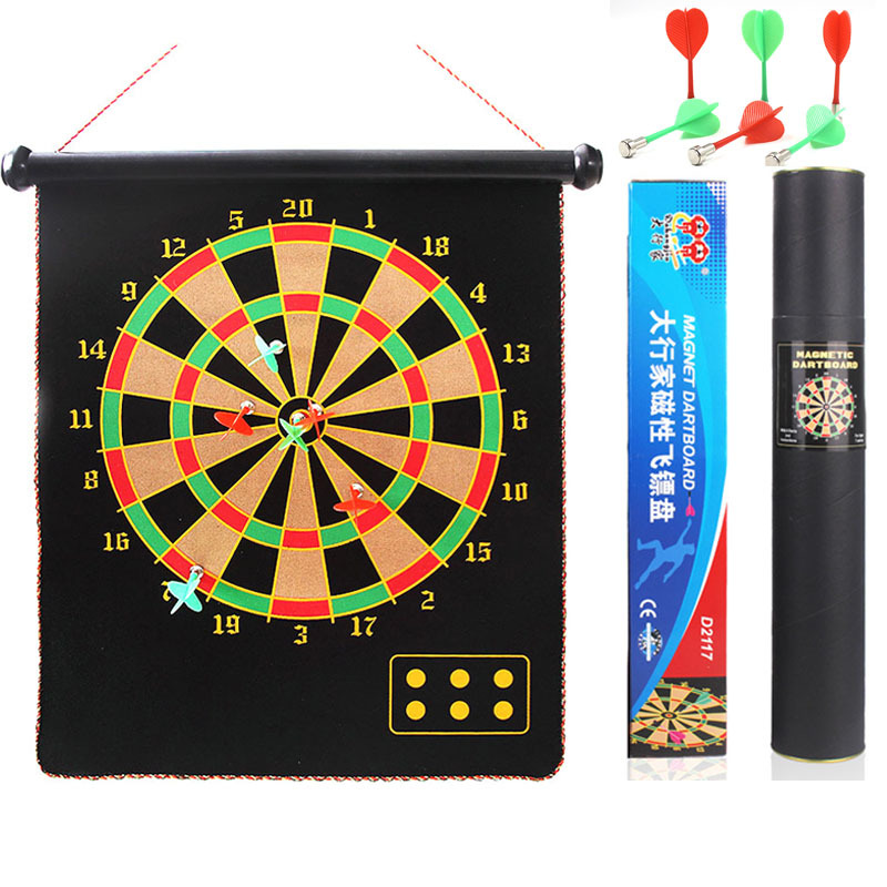 17 inch Roll-Up Magnetic Dartboard