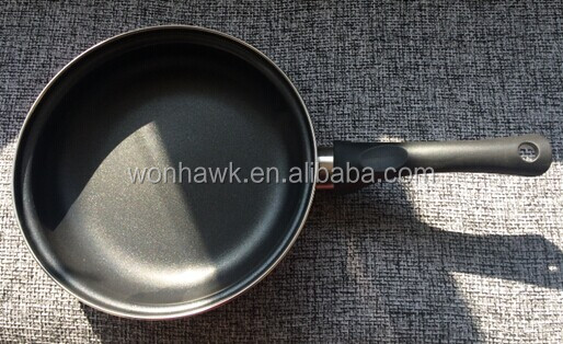26cm enameled double side frying pan