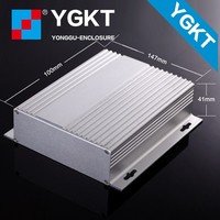 mini itx electrical aluminum amplifier computer case electronic distribution enclosure box for car amplifier aluminum extrusion