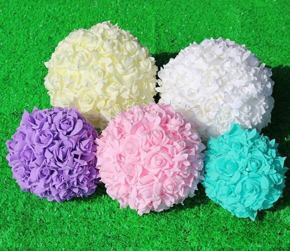 Hot Selling Silk Rose Flower Bouquet For Wedding Decoration