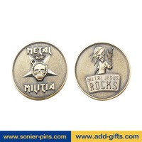 sonier-pin sell coin collection book with acrylic coin holder with zinc alloy plating