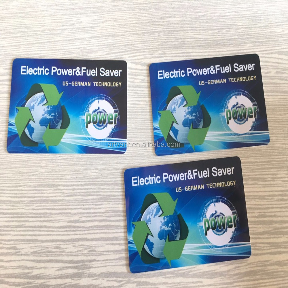 Energy Saving Card Negative Ion Card Power saver Germany Technology Fuel Saver Card