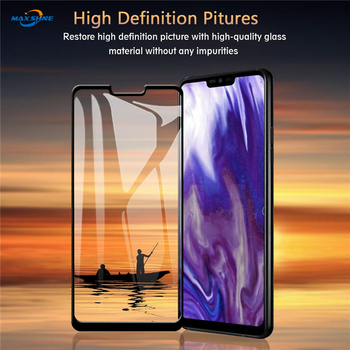 Maxshine Full Cover  3D Curved Tempered Glass Screen Protector For Lg G8
