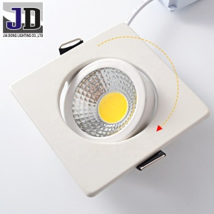 5W 450lm Lamp Luminous Flux(lm) and LED Light Source Cob Led ceiling Spotlight