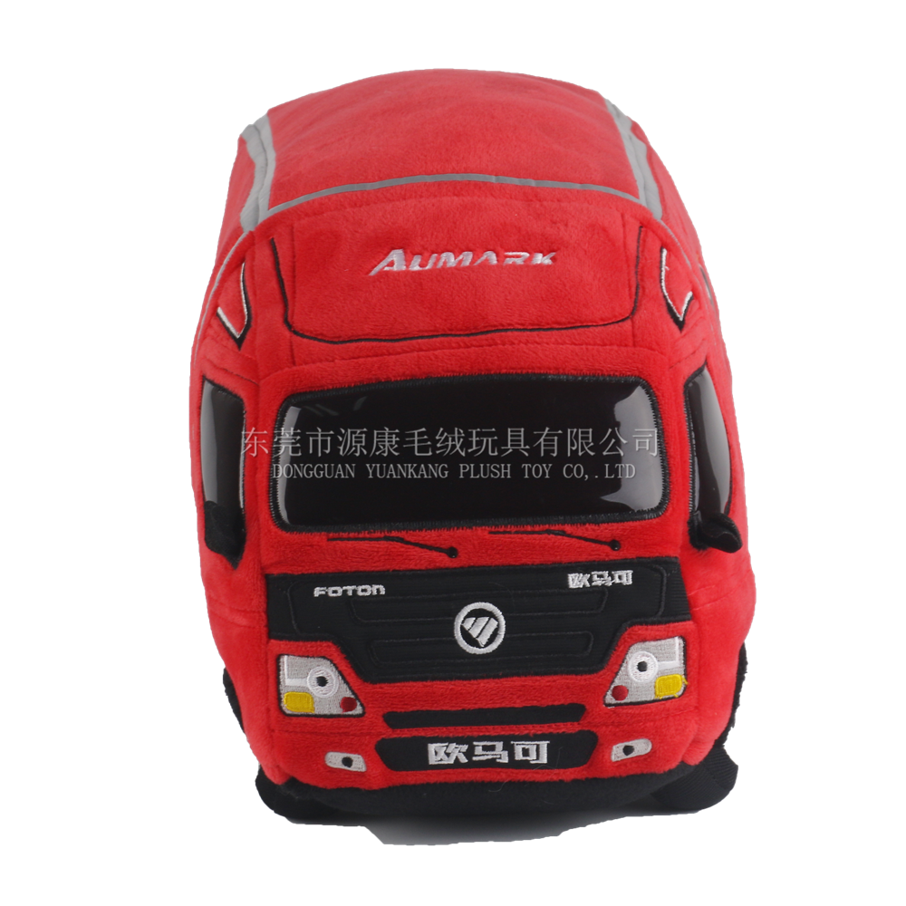 Made in China New Products Plush Stuffed Red Car Toys