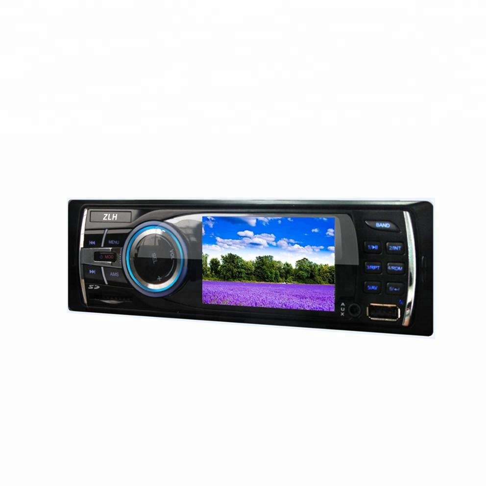 High Definition LED Multi-function Car Fm Transfer Supports Handsfree Bluetooth Function FM/MP3/MP4 Manual Car MP5 Player