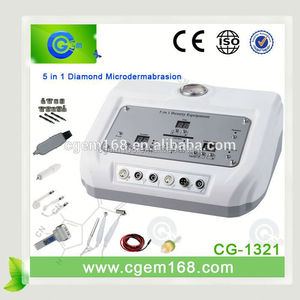 CG-1321 Big promotion! beauty salon equipment 5 in 1 diamond microdermabrasion machine filters with Low price