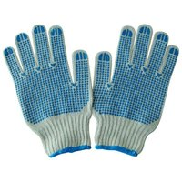 ZMSAFETY Great Insulating Liner Cotton Work Glove With Mini PVC Dot Standard Weight