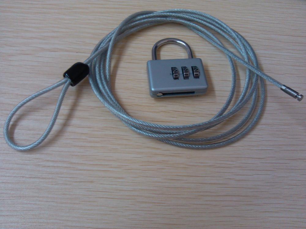 Ch-20a Passwortsperre/vorhängeschloss Kabel/sicherheit Draht Mit ...