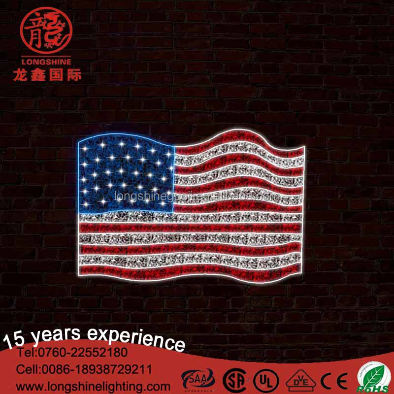 Christmas Lights Flagpole Suppliers Manufacturers Alibaba American Flag