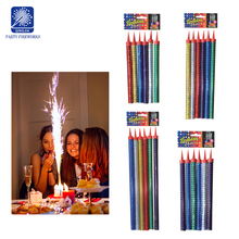 Cold fireworks cake birthday candles indoor stage fountain fireworks