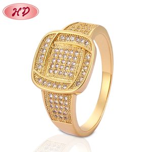 New Model Designs Gold Filled Women Jewelry Fashion Ring Finger Rings Photos