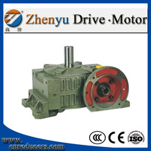 High heat radiating efficiency WPWDO Worm Gearbox For metallurgical machinery worm speed reducer