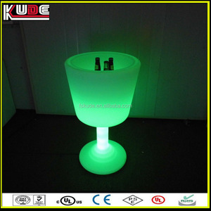 new products waterproof garden beer cooler with RGB light