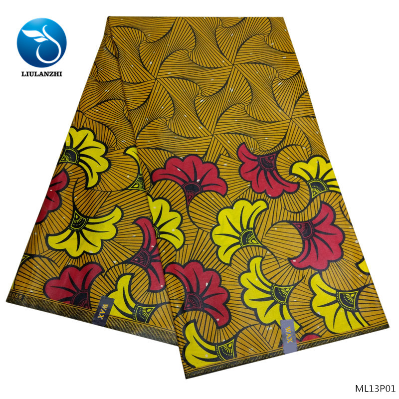 Beautifical satin fabric 4yards mix chiffon 2yards bridal satin fabric african printed polyester satin fabric ML45S25