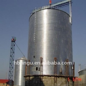 complete set steel silo to storage grain 1000ton grain silo