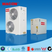Macon split system EVI air source heat pump heat pumps for home-use