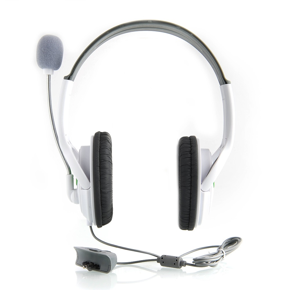Quality Earphone Live Headset Headphone Mic for Microsoft for XBOX 360 Slim Light weight Volume control Retro Best Price
