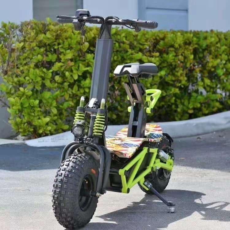 CE certificate fat tire adult's electric scooter 2000w