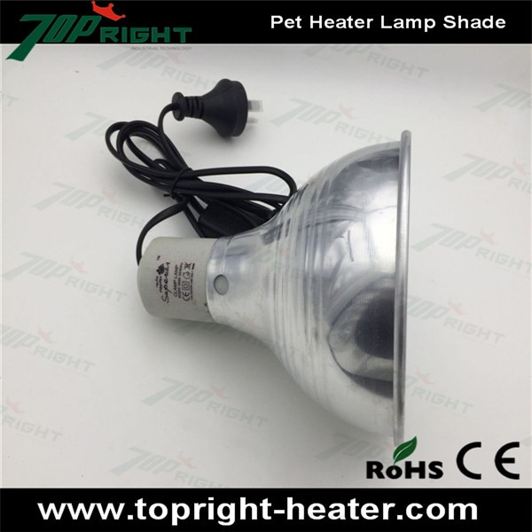 Ceramic Heater Emitter Bulb Lamp With Shade Reptiles Lizards Snakes Buy Ceramic Heater Emitter