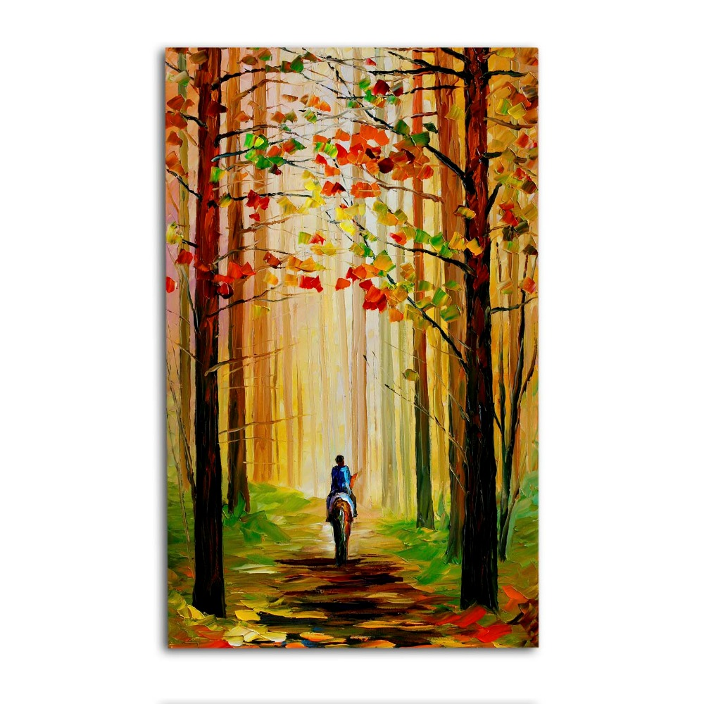 simple scenery paintings,scenery painting for home decoration ...