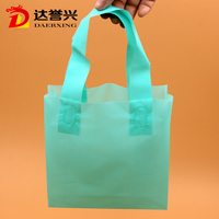 taobao high quality customized packing tote shopping plastic bag supplier