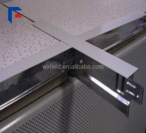 Drop ceiling grid galvanzied t-grid