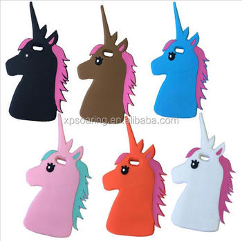 3d Unicorn Silicone Cover Case For