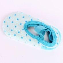 Cute Infant Dots Slipper Socks Girls Nib Baby Crib Shoes Booties Ankle Socks