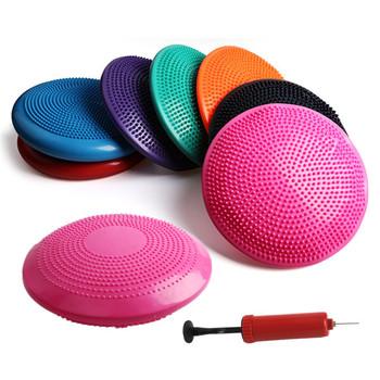 Disco A Cuscino D Aria.Massaggio Yoga Bilanciamento Del Pilates Gonfiabile Cuscino D Aria