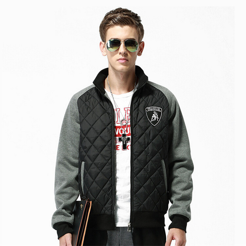Buy Thick warm coat zipper lightweight pocket jacket with ...